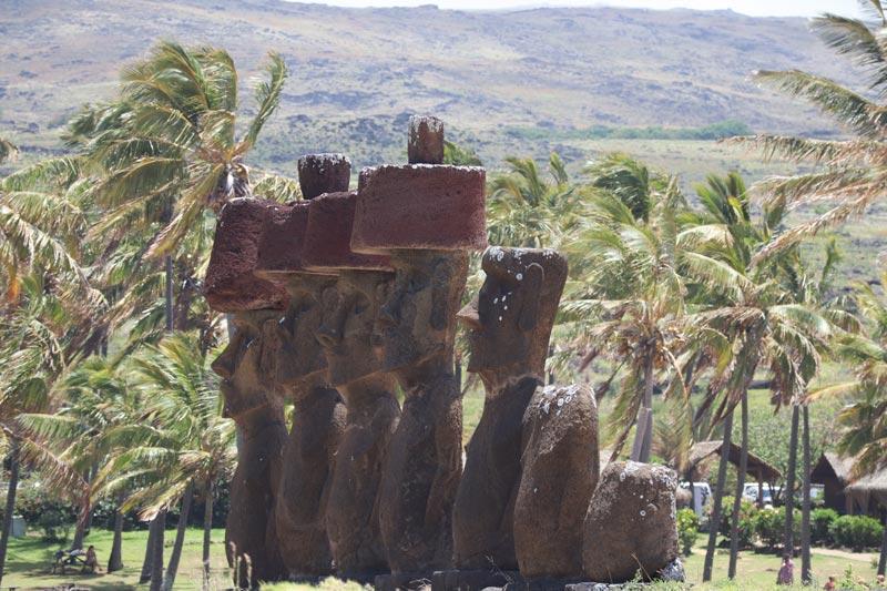 Ahu Nau NAu - Easter Island