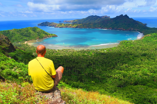 Anaho Bay Nuku Hiva Marquesas Islands French Polynesia
