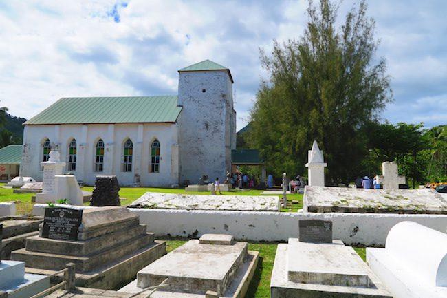 Avarua Catholic Church CICC Rarotonga - exterior