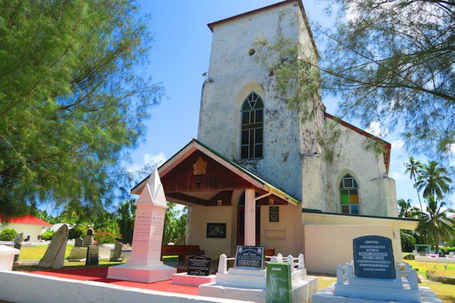 Avarua Catholic Church CICC Rarotonga - front exterior