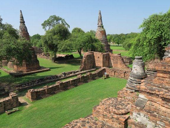 ayutthaya-thailand-aerial-view