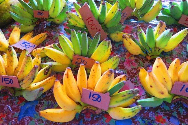 Bananas in Port Vila Central Market - Vanuatu