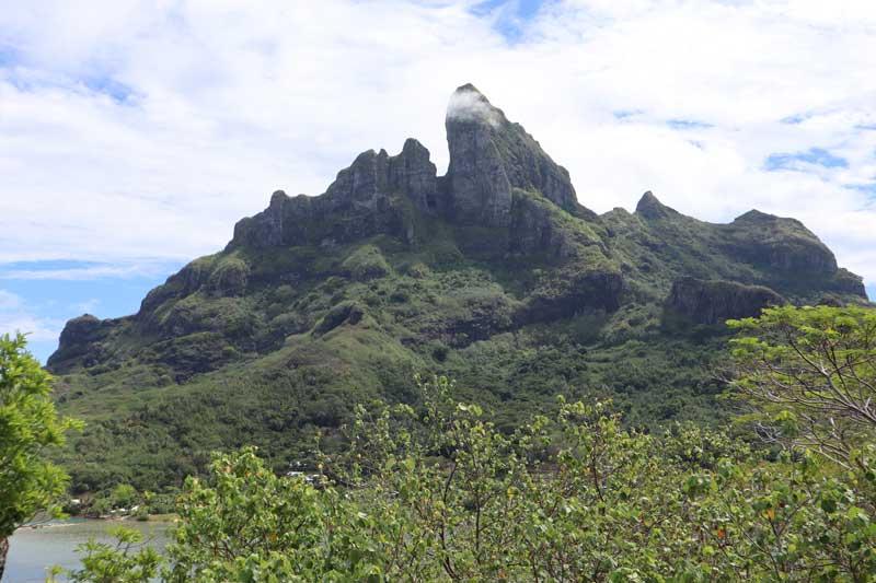 Bora Bora 4X4 Natura Discovery Tour French Polynesia - mount otemanu view