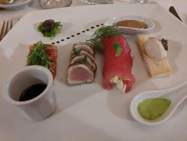 Bora Bora Pearl Beach Resort - dinner 3