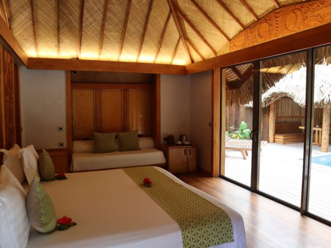 Bora Bora Pearl Beach Resort - garden bungalow
