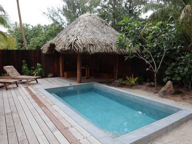 Bora Bora Pearl Beach Resort - garden bungalow private pool