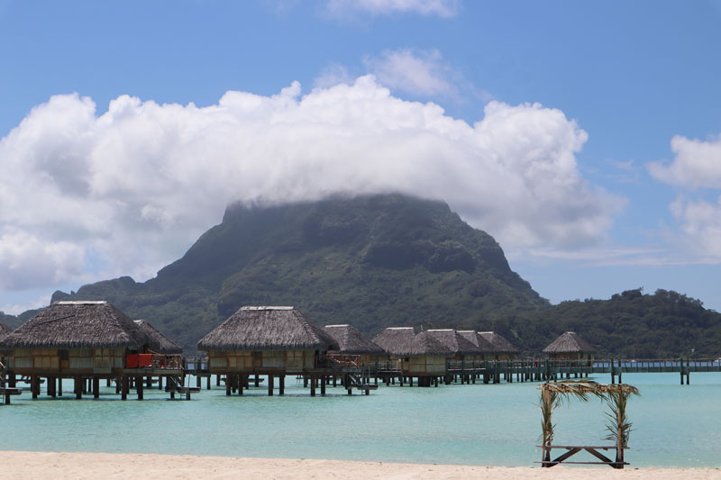 Bora Bora Pearl Beach Resort - view from beach