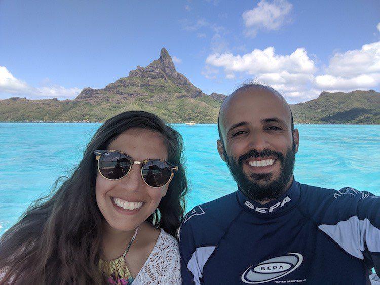 Bora Bora lagoon tour French Polynesia