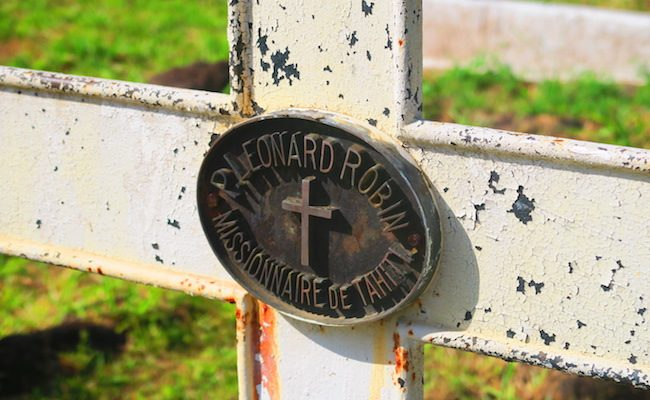 Calvaire Cemetery Hiva Oa Marquesas Islands French Polynesia