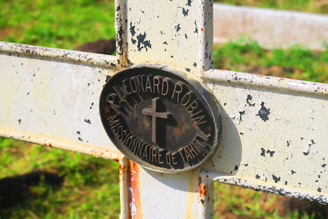 Calvaire Cemetery Hiva Oa Marquesas Islands French Polynesia