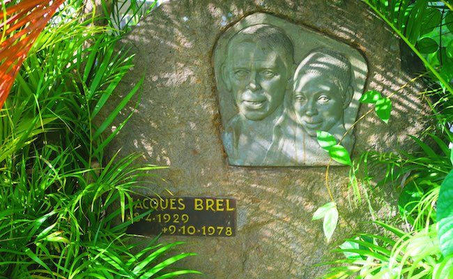 Calvaire Cemetery Hiva Oa Marquesas Islands French Polynesia Jacques Brel grave