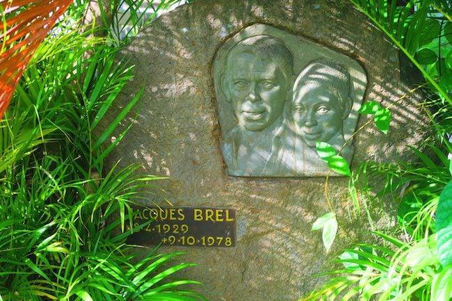 Calvaire Cemetery Hiva Oa Marquesas Islands French Polynesia Jacques Brel grave
