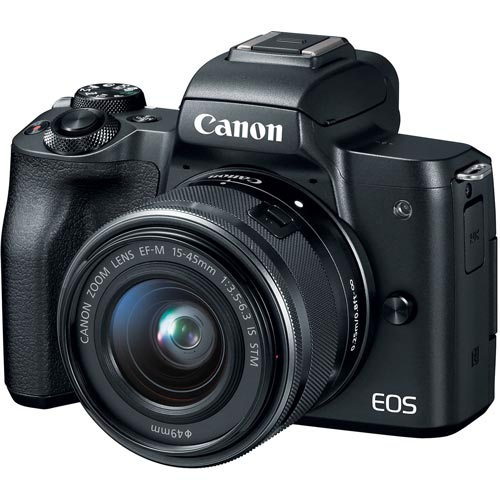 Canon M50 Mirrorless Camera Image