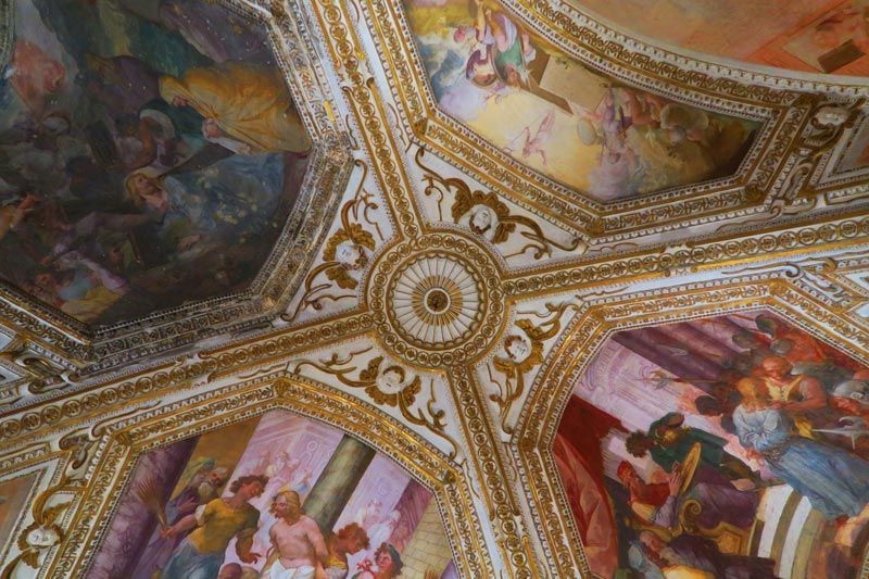 Cathedral of Amalfi frescoed ceiling
