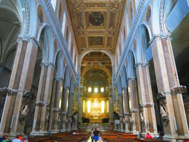 Duomo Cathedral Naples - 1
