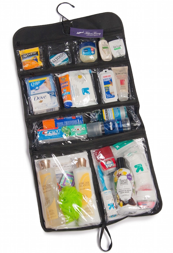 Expert Traveler Hanging Toiletry Bag Image