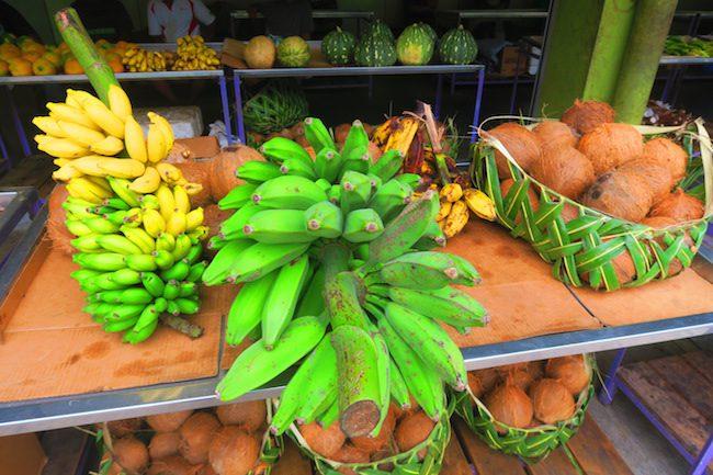 Fagatogo Market Pago Pago American Samoa - bananas