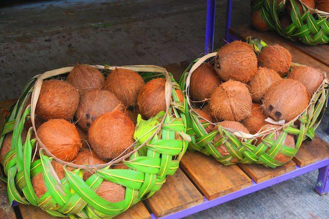 Fagatogo Market Pago Pago American Samoa - coconuts