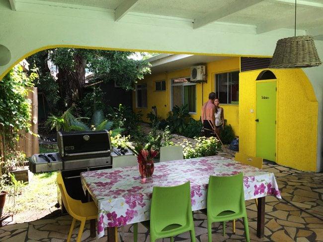 Fare Rea Rea Papeete Tahiti - kitchen