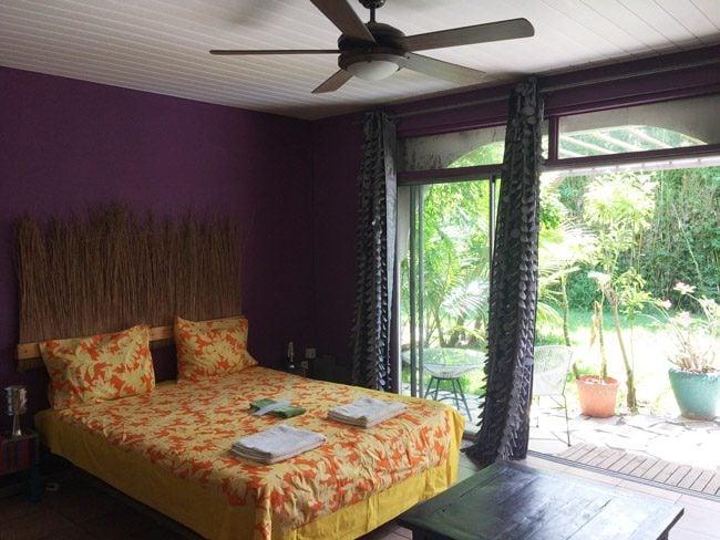 Fare Rea Rea Papeete Tahiti - large bedroom