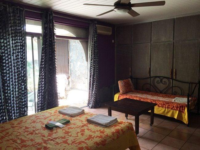 Fare Rea Rea Papeete Tahiti - private bedroom 2