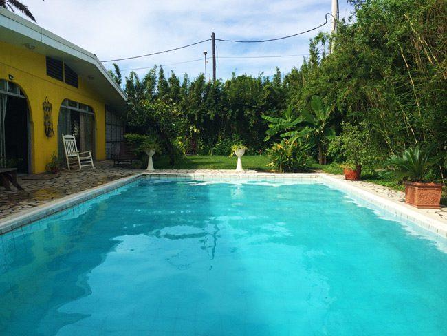 Fare Rea Rea Papeete Tahiti - swimming pool