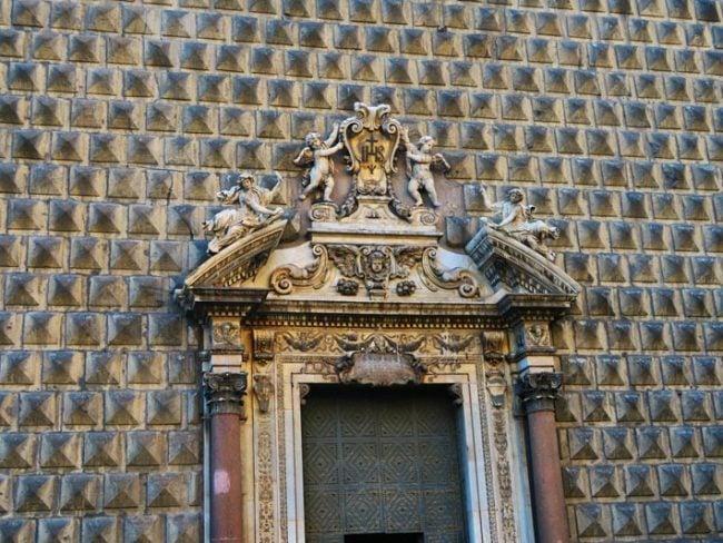 Gesu Nuovo Church Naples - exterior