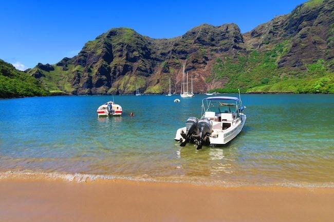 Hakaui Valley Vaipo Waterfall hike Hakatea Bay Nuku Hiva Marquesas Islands French Polynesia