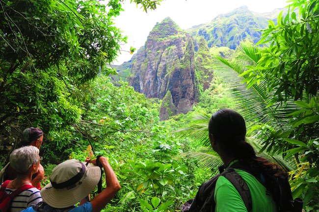Hakaui Valley Vaipo Waterfall hike Nuku Hiva Marquesas Islands French Polynesia