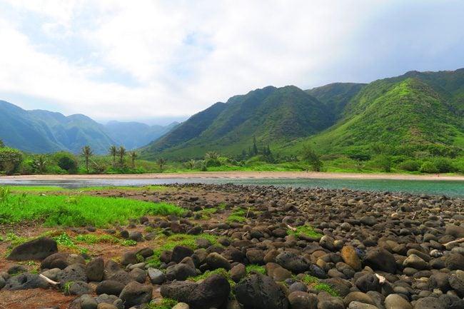 Halawa Beach Molokai Hawaii