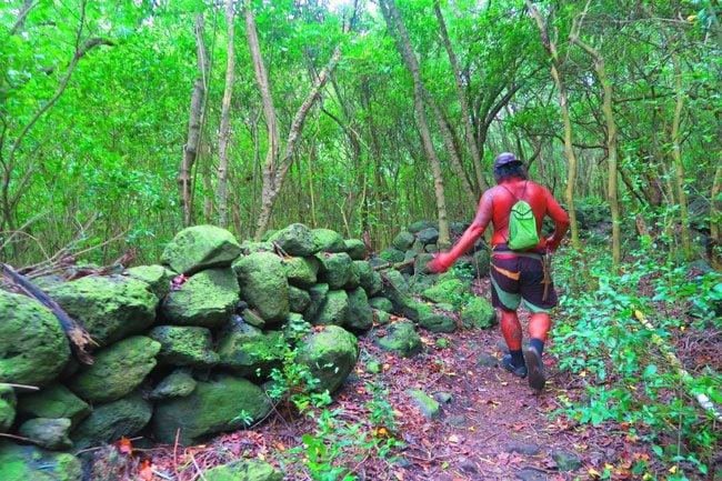 Halawa Valley Hike Molokai Hawaii - ancient stone structures