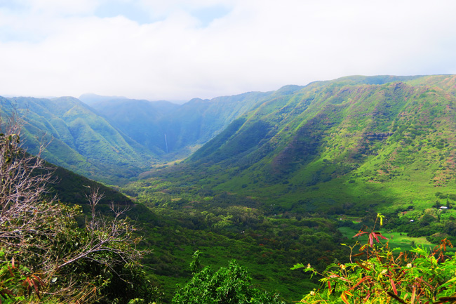 Halawa Valley Molokai Hawaii
