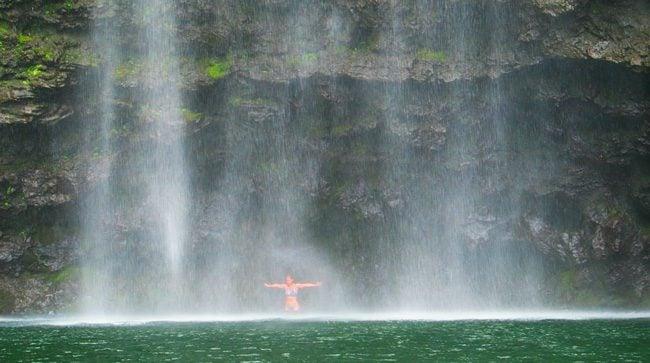 Hanakapi'ai Falls - Kalalau Trail - Kauai, Hawaii