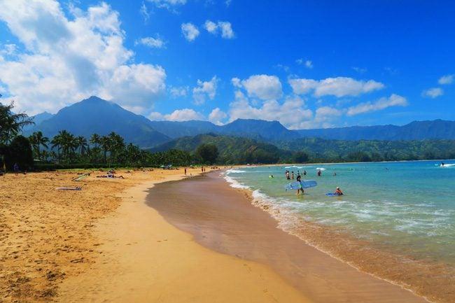 Hanalei Bay - Kauai, Hawaii