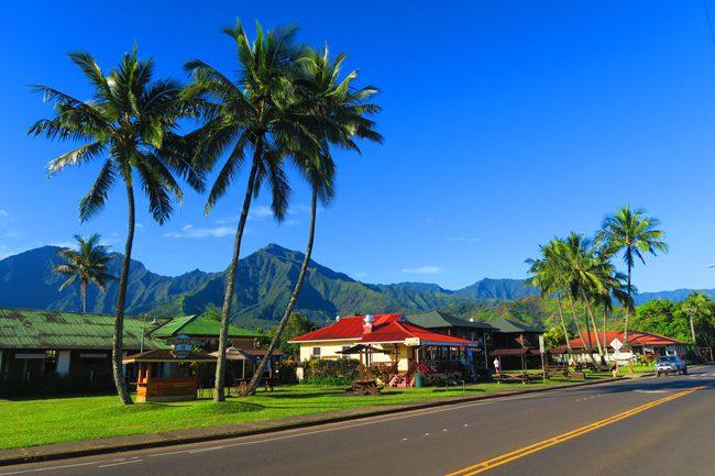 Hanalei Town - Kauai, Hawaii