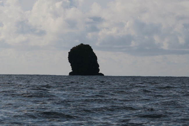Hanatekuua Bay Hike Hiva Oa Marquesas Islands French Polynesia negro head