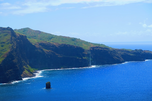 Hanatekuua Bay Hike Hiva Oa Marquesas Islands French Polynesia waterfall