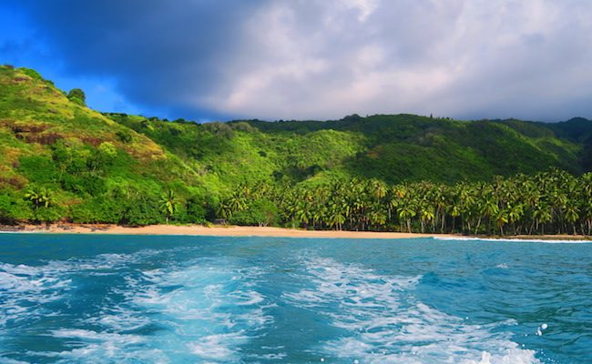 Hanatekuua Beach hiva oa marquesas islands