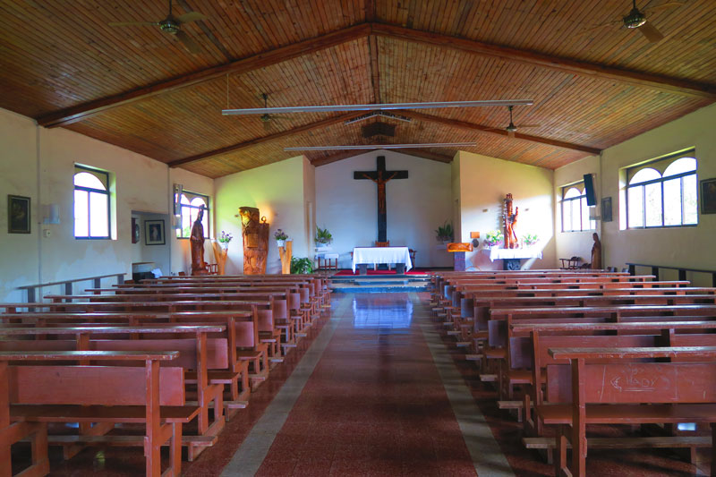 Hanga Roa Catholic Church - Easter Island 2