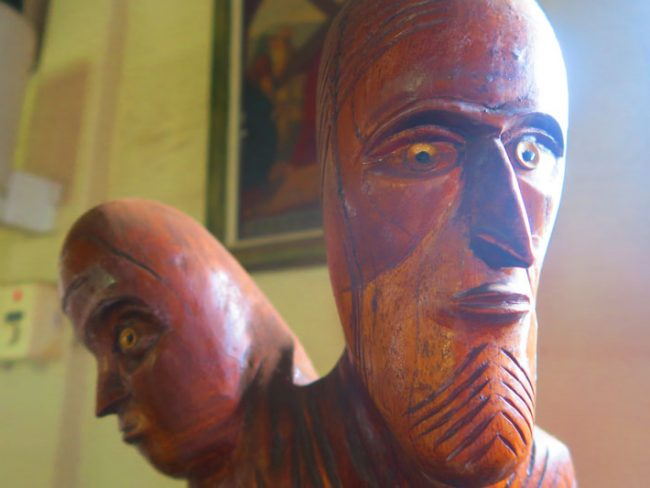Hanga Roa Catholic Church - Easter Island 3