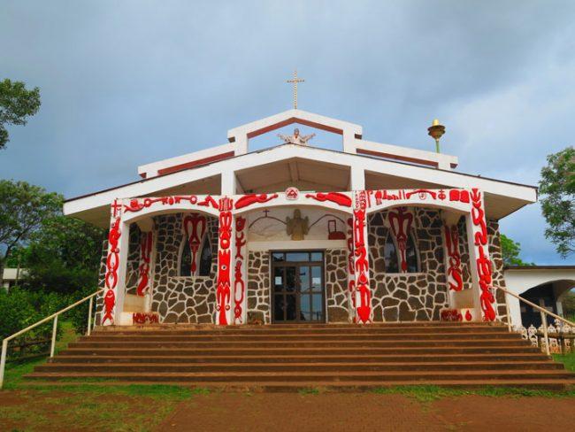 Hanga Roa Catholic Church - Easter Island