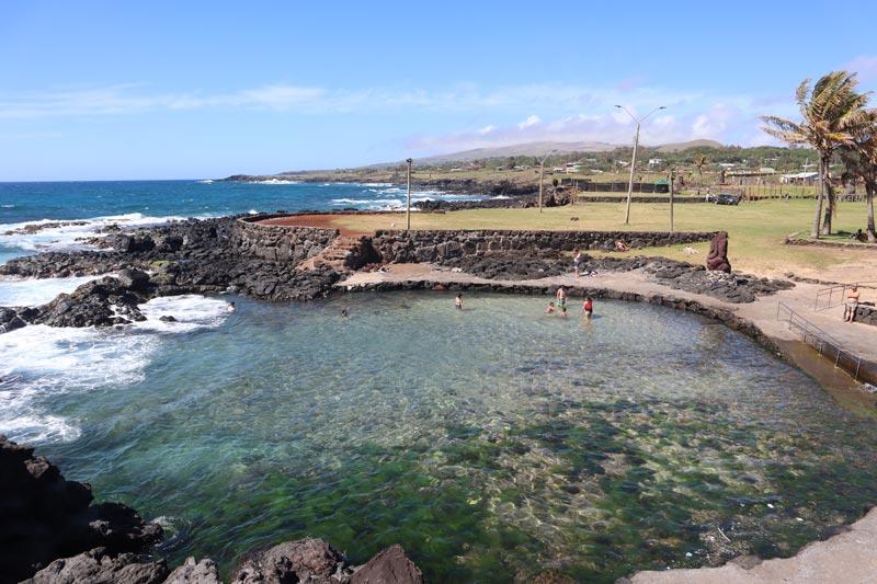Hanga Vare Vare pool - Easter Island Hanga Roa