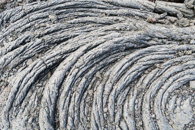 Hardened Lava Art - Hawaii Volcanoes National Park Big Island