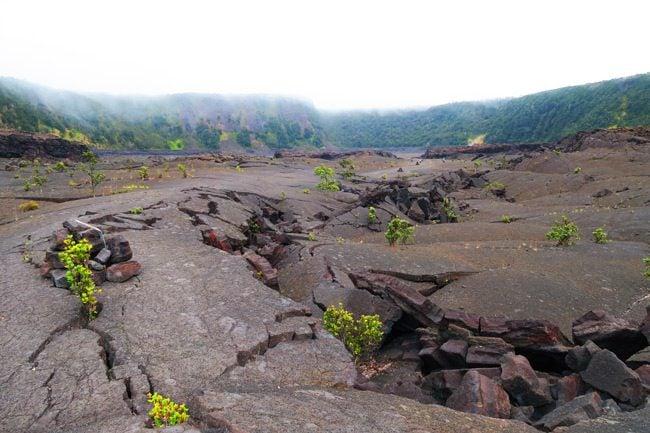 Hawaii Volcanoes National Park Big Island - Kilauea Iti Trail