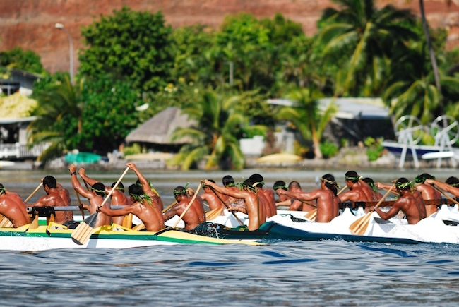 Heiva Tahiti - Tahiti Tourisme Raymond Sahuquet - Canoe Race