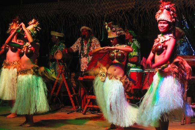 Highland Cultural Paradise Rarotonga Cook Islands - island night show Cook Islands culture