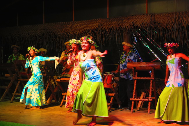 Highland Cultural Paradise Rarotonga Cook Islands - island night show song