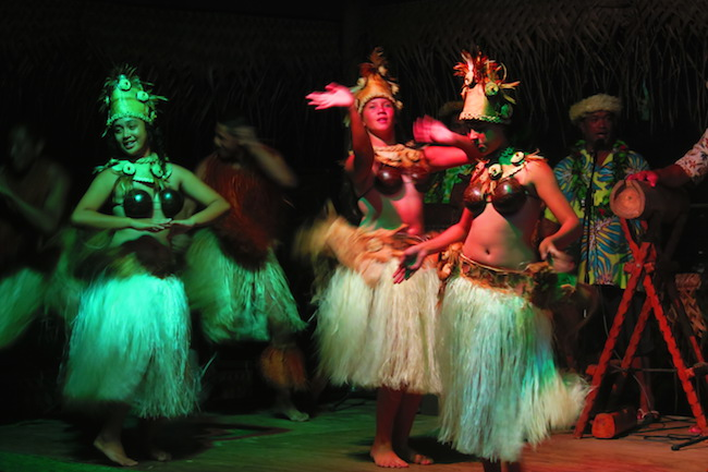 Highland Cultural Paradise Rarotonga Cook Islands - island night show traditional dance