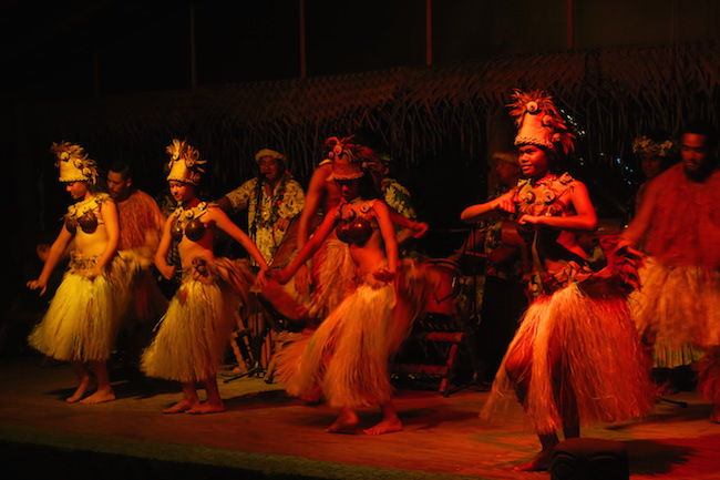 Highland Cultural Paradise Rarotonga Cook Islands - island night show