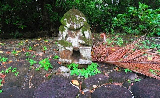 Hikokua Site nuku hiva marquesas - tiki statue 3